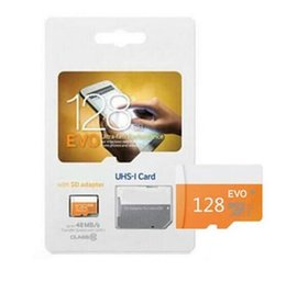 Wholesale 128 Gb Micros Sd - 100% Originele EVO Micro Sd 32GB 64GB Micro SDXC 10 Mini Micro SDHC TF card 128 GB for samrtphone and table PC