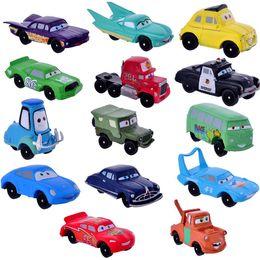 Wholesale Pixar Cars 14pcs - 14pcs set Pixar Cars Model Toy Plastic Diecasts & Toy Vehicles 3-5cm