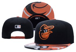Wholesale Football Baltimore - 2017 Newest BALTIMORE Caps Football Snapback Caps Team ORIOLES Hats Sports Mix Match Order All Caps in stock Top Quality Hat free shipping