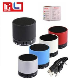 S10 mini wireless bluetooth portable Hi-Fi USB speaker with TF card FM radio With the Retail Box Deals