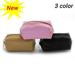 Wholesale Fresh Brush - 2017 Women's Makeup Cosmetic Case Fashion Travel Kit Solid 3 Colors Organizer Bag Mushroom Cosmetic brush bag