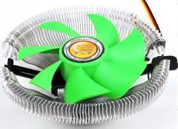 2019 accesorios de aluminio de china Moda Negro PC electrónico Accesorios de redes de computadoras portátiles Ventiladores de CPU de aluminio Disipador de calor del radiador Almohadillas de enfriamiento 2917 accesorios de aluminio de china baratos