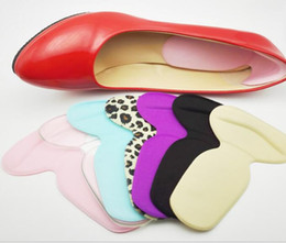 Wholesale Wholesale Replacement Cushions - Soft Silicone Heel Cushion Protector Feet Care Shoe Pad Insole Anti-Slip Heel Sole Grip Protector Pads Non-Slip Cushion Replacement KKA3286