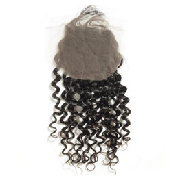 Wholesale Spiral Curly Brazilian - 2017 fashionable hair products Virgin brazilian hair spiral curl invisible free part closure,swiss lace,bleached knots
