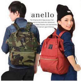 Wholesale women korean rings - Wholesale- Anello School Backpacks For Teenage Girls Cute Girl School Backpack For School College Bag For Women Lightweight Ring Backpack