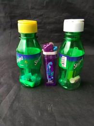 einzigartige tropfflaschen Rabatt Spire Bottle Shisha, einzigartige Ölbrenner Glas Bongs Pipes Wasserpfeifen Glaspfeifen Ölplattformen Rauchen mit Pipette