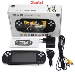 Wholesale Portable Tft - 2017 Latest Generation PAP Gameta II 2 3 Handheld Game Consoles Portable 64 Bit Mini Video Games Players HD TFT 4GB Support TV