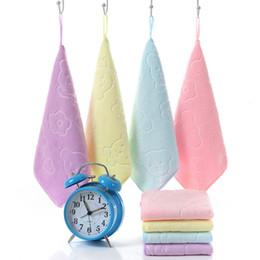 Wholesale Baby Bath Cloth - wholesale Multicolor Soft Baby Newborn Children Bath Towels Washcloth for Bathing Feeding baby washcloths washrag face