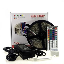 Wholesale Cree Led Lighting Strip Lights - Waterproof LED Strip cree SMD5050 fiexible light 60Led m,5m lot DC12V,White,Warm white,Red,Green,Blue,Yellow,RGB CE UL