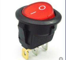 2019 module de relais unique interrupteur rond à 3 broches pour interrupteur rond pour l'industrie