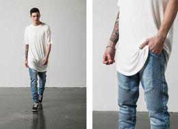 Wholesale Hot Pants Mans - Hot 2017 New Fashion Brand Jeans Men Homme Straight Slim Fit Biker Jeans Pants Denim Trousers Pleated Designer Mens Clothing