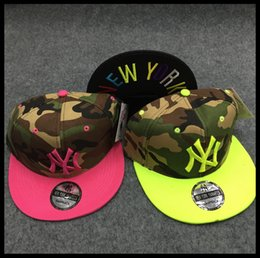 Wholesale Free Han - In the summer of 2017, the han Chinese version of the summer camouflage printed hip-hop is on a high quality discount in baseball caps