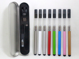 Wholesale E Cig Pen Cases - CE3 O-pen Metal Case Kit Oil Vape BUD Pen With USB Charger e Cig Cartridges Wax Oil 510