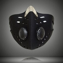 Wholesale Protect Dust - Motorcycle Bicycle Sports Protect Activated Carbon Half Face Mask Anti-pollution City Cycling Dust Mask mouth-muffle with filter