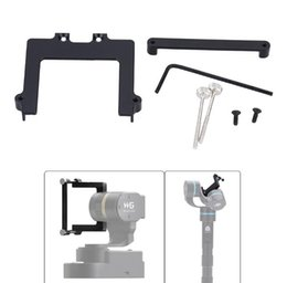 Wholesale Hanging Mask - Wholesale- 46mm Camera Hanging Board Plate Adapter Mount Splintage Set Repleace for Feiyu WG and G4 for Xiaomi Yi SJ AEE Sports Camera