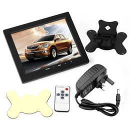 Wholesale Cctv Cards For Pc - 8 Inch TFT LCD Color car dvr Video Monitor Screen VGA BNC AV HDMI Input with Remote Controller for PC CCTV Home Security