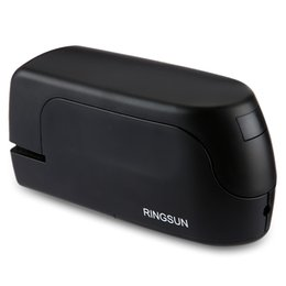 Wholesale Universal Personal - Universal RINGSUN RS-A09081 Personal Stapler with Desktop Electric Full-Strip Battery Operated for Home School Modern Office Use