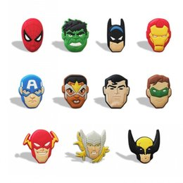 Wholesale People Gifts - 22PCS Avengers PVC Blackboard Magnetic Stick,Fridge stickers, Lovely lackboard Magnets,For Students' Gifts Party