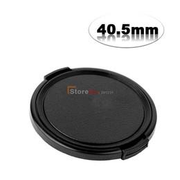 Wholesale Nex Cap - Wholesale-2pcs 40.5mm Side-Pinch Lens Cap For NEX5R NEX 5R NEX-5T NEX-6 16-50 VIA 1 V1 J1 Nikkor VR 30-110mm 10-30mm filter protection
