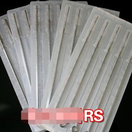 Wholesale 11rs Needle Tattoo - 50 pcs Tattoo Needles Professional Scattered round needle 11RS 12RS 13RS 14RS 15RS needle Tattoo beauty equipment for Beauty Makeup