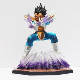Wholesale Red Toy Gun - 1Pcs Anime Dragon Ball Z Figuarts Zero Vegeta GALICK GUN PVC Action Figure Collectible Model Doll Toy 15cm With Box