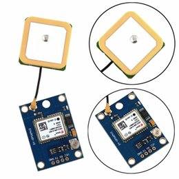 Wholesale Mwc Flight Controller - Wholesale- For Ublox NEO-6M GPS Flight Aircraft Module Controller For Arduino MWC IMU APM2