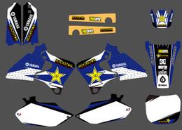 2019 fahrrad 18 zoll 0129 Star New StyleTEAM GRAPHICSBACKGROUNDS AUFKLEBER AUFKLEBER Kit für Yamaha 4 TAKT YZ250F YZ400F YZ426F YZF 1999 2000 2001 2002