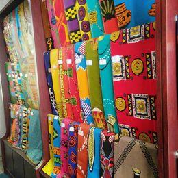 Wholesale Wholesale African Wax Fabrics - Hot Sales African Wax Fabric Super Real Batik With Hundreds Pattern Cotton Imitation Batik Printing Cloth Hollandais Wax