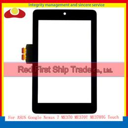 Wholesale Google Nexus Tablet Pc - For ASUS Google Nexus 7 ME370 ME370T ME370TG Tablet PC Touch Screen With Digitizer Sensor Panel Front Glass Lens Black