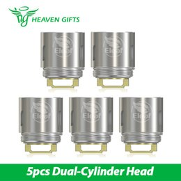 Wholesale Hg Wholesales - 5pcs in a pack Eleaf HW2 Dual-Cylinder Head for Ello Mini 0.3ohm Resiatance coil Head for Ello Mini From HG 100% Original