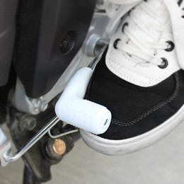 Wholesale Gears Shoes - Universal Motorcycle Rubber Shifter Sock Boot Shoe Protector Shift Cover Gear Shift Shifter Sock Cover 6 Colors