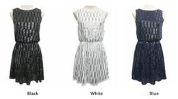 Wholesale Cheap Short Casual Wedding Dresses - Navy blue black white short mini A line party dresses Luxury wedding guest dress cheap under 50 beading backless