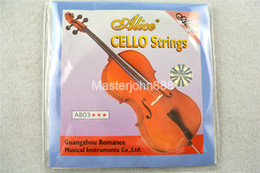 Wholesale Alice Strings - Wholesale- Alice A803 Cello Strings Steel Core&Nickel Silver Wound 1st-4th Strings Free Shippng