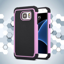 Wholesale Galaxy Note Ballistic Cases - Football Rugged ballistic Impact Combo PC+silicone Case cover For Samsung Galaxy S4 S5 S5 MINI S6 S6 EDGE S7 S7 EDGE A8 NOTE 4 NOTE 5 100PCS