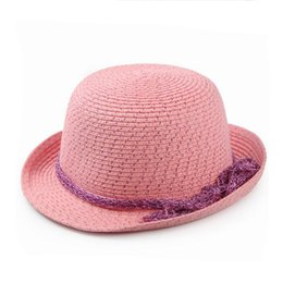 Wholesale Ladies Sun Hats Travel - Best gift Tide spring summer ladies sweater leisure bright wire after the Alice hat outdoor travel sun hat M015 with box