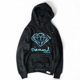 hip hop clothing diamond hoodie Coupons - Wholesale- 2017 new autumn Brand Diamond black Men Hip Hop Sweatshirts Pullover Hoodies male tracksuit Moleton fashion clothes S-XXL