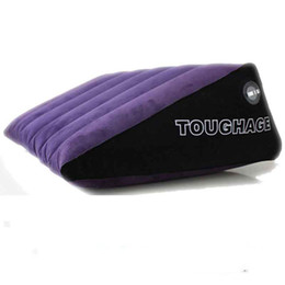 Wholesale sex sofas - Toughage Adult Games magic positions wedge ramp Inflatable Sex Pillow Sofa cusion Facilitate G-spot Transformation Love Sex Toys