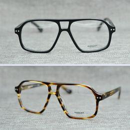 Wholesale Arrow Glass Lens - Brand 2017 Brand design BJORN eyewear johnny depp glasses top Quality brand round eyeglasses frame with Arrow Rivet