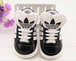 Wholesale Fabric Soft Baby Shoes - Baby Gold Shoes Soft Sole Moccasin Newborn Babies PU leather Slip-on First Walker Baby sports shoes