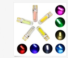 Wholesale Super Led W5w - T10 COB 20SMD W5W SILICA Super Bright LED light Bulbs wedge bulb Cool White wholesale price