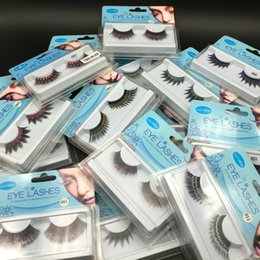 Wholesale Colorful Plastic Christmas Balls - 2017 New Halloween Ball Color Fake Eyelashes Christmas Stage GM 6 colors factory direct DHL Free Shipping