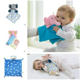 Wholesale Springs For Toys - Calm Towel Kids Elephant Comfort Towels Blanket Plush For Girls Boys Rabbit Kids Stuffe Frog Animals Toys Christmas Gifts Free Shipping