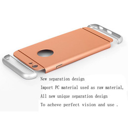 Wholesale Hole Plastic Buttons - For iphone6s 6g new separation design 3d volume buttons accurate hole location perfect fit phone body cute hard cell phone cases
