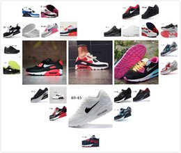 Wholesale Navy Surface - Hot Sale classic Air Cushion Running Shoes 90 Men and women Running Shoes Sports Trainer Air Cushion Surface Breathable Sports Shoes