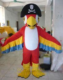 Desenhos animados do traje da mascote da águia on-line-capitão pirata da águia capitão clássico bonecas dos desenhos animados trajes da mascote adereços trajes frete grátis