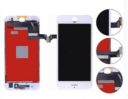Wholesale Iphone Parts Free Shipping - For iPhone 7 LCD Touch Screen No Dead Pixels AAAA Quality Digitizer Assembly with Small Parts Assembly Free shipping