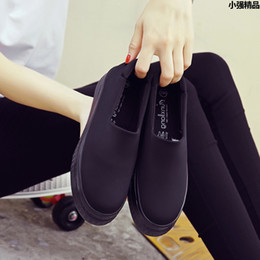 Wholesale Harajuku Fabric - designer women casual shoes slip on flat woman espadrilles loafers alpargatas womens canvas shoes harajuku platform shoes black red