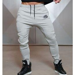 Wholesale Full Workout - Wholesale- New Arrivals 2017 Year Men's Body Engineers Workout Cloth Sporting Active Cotton Pants Men Jogger Pants Sweatpants Bottom Leggin