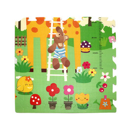 Wholesale Animals Floor Puzzle - 59*1.5cm Thicken Foam Mat Waterproof Cartoon Animal Pad 6PCS pack Baby Early Crawl Education Play Soft Puzzle Mat