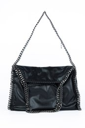 Wholesale Tassel Handles - Free Shipping!2017 Hot Sell Newest Classic Fashion Style Lady chain bag casual tote Falabella handbag PU leather top handle bag#9566